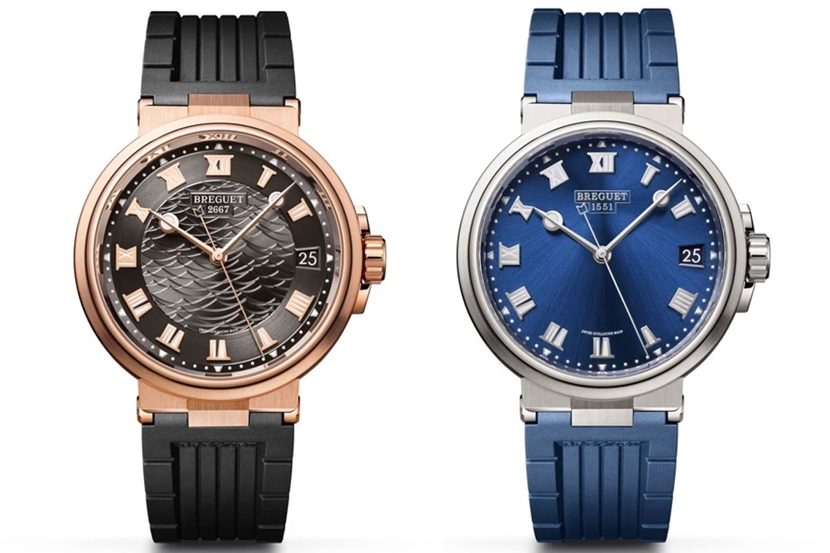 Breguet introduces new variations to its marine collection