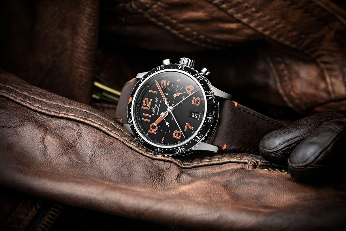 Breguet unveils new type xxi models in titanium