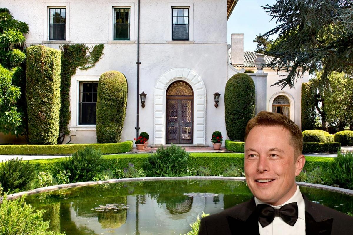 Elon musk house 8
