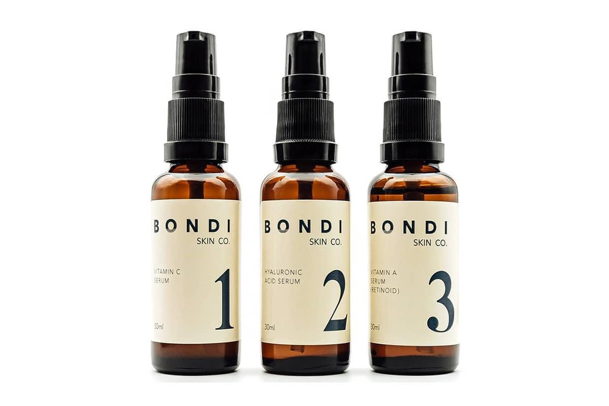 bondi skin co mens anti aging serum kit