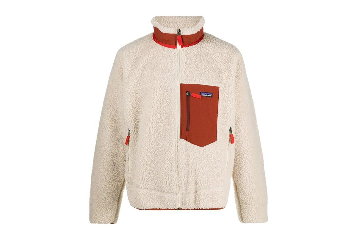 Patagonia Short Fleece Bomber Jacket