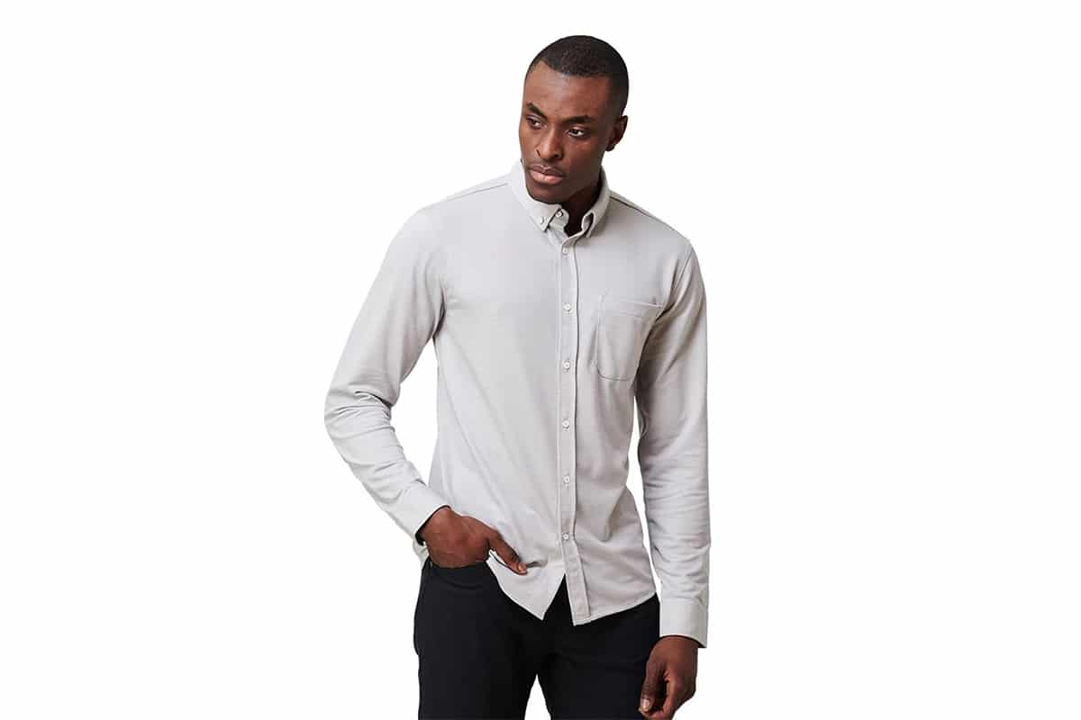 Western Rise Limitless Merino Button-Down Shirt