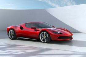 Ferrari 296 gtb from front quarter