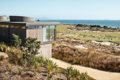 Every Golfer's Dream: Fielding House is Perched Atop a Stunning Links Course