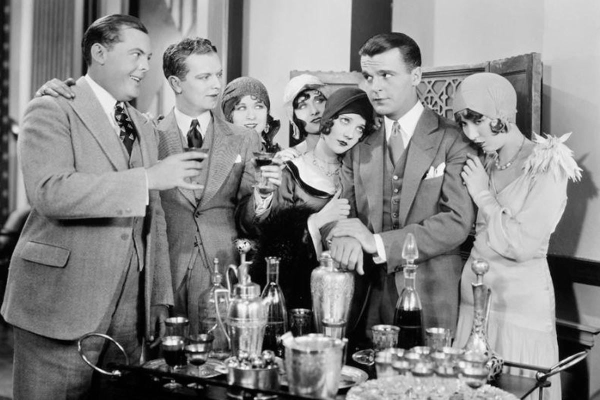 Gin matini cocktail