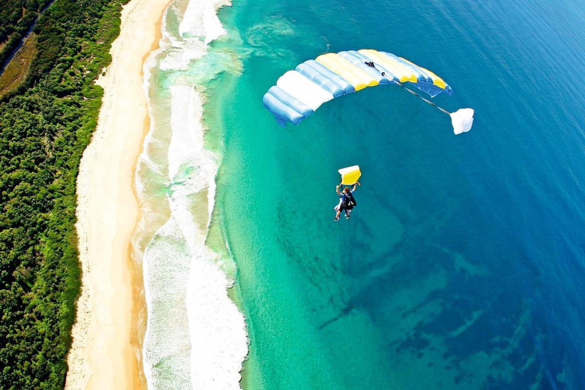 Go skydiving sydney