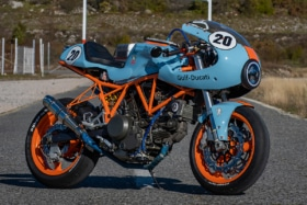 Hcaf ducati 750ss cafe racer moto