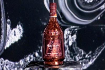 Refik Anadol x Hennessy VSOP Carafe: Where Neuro-Science Meets Cognac