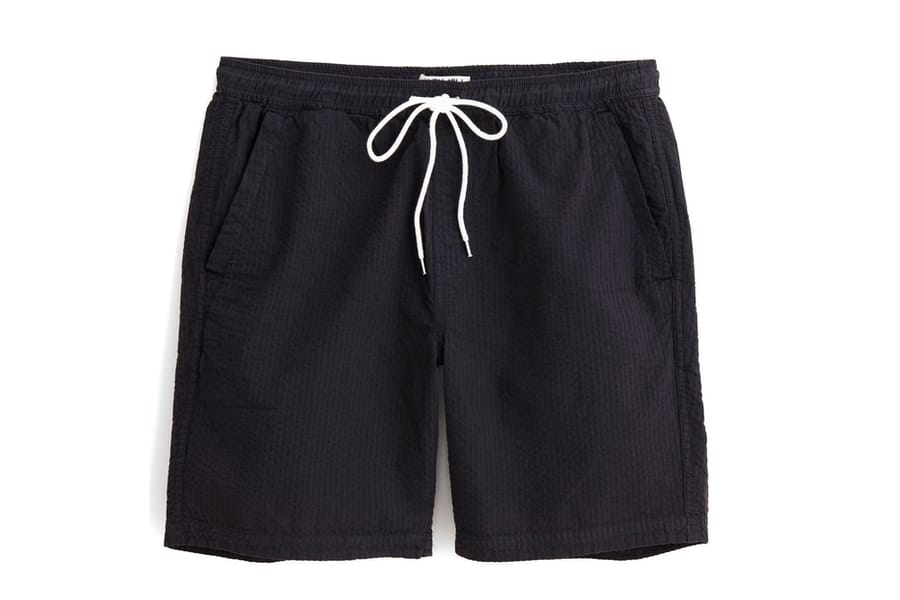 alex mill saturday seersucker shorts