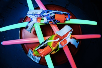 HYPE x NERF Blasters Get You Ready for a Steezy Shootout