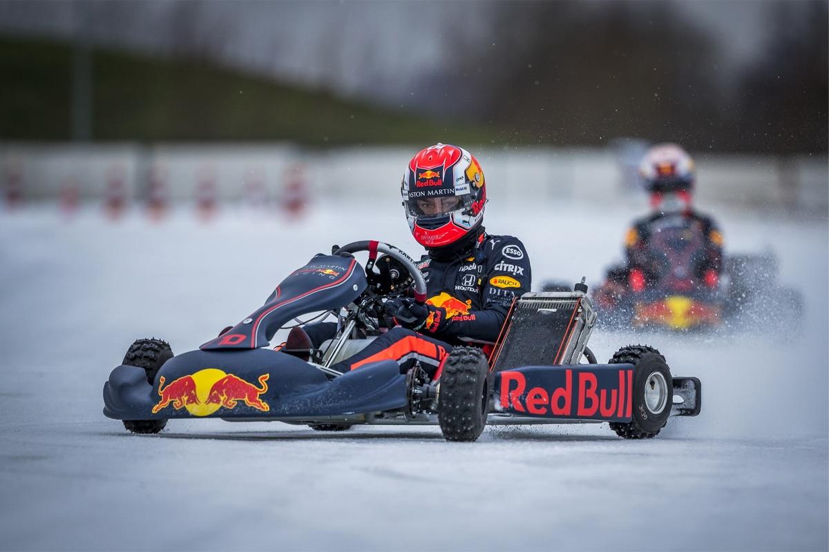 Ice karting redbull 2