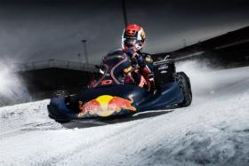 Ice karting redbull 3