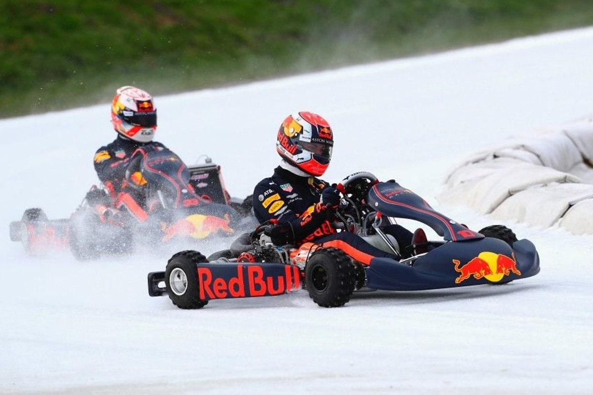Ice karting redbull