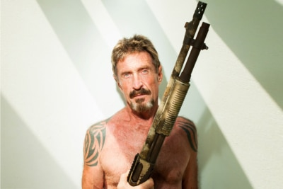 The Extraordinary Rise and Fall of John McAfee