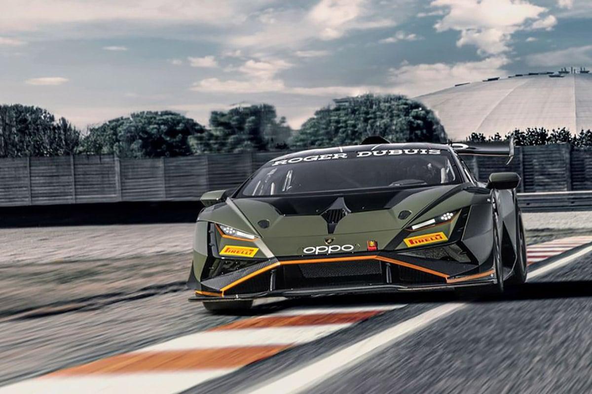 Lamborghini huracan super trofeo evo2 1
