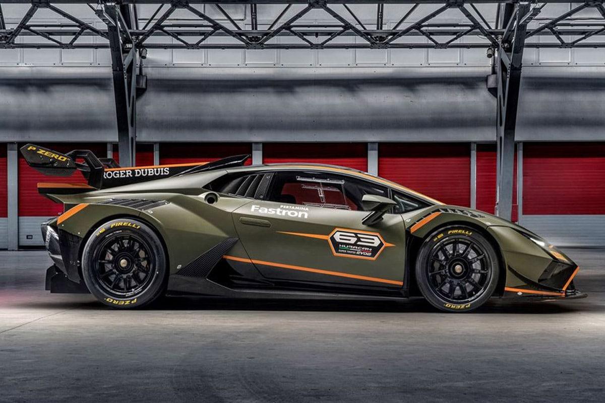 Lamborghini huracan super trofeo evo2 2