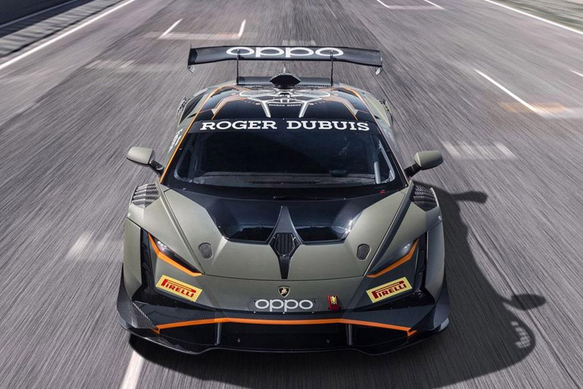Lamborghini huracan super trofeo evo2 4