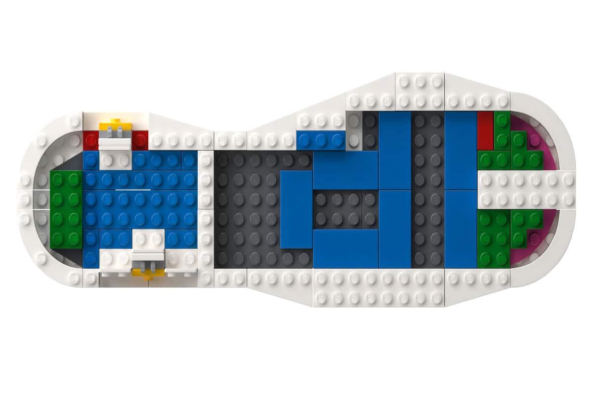Lego adidas superstar 4