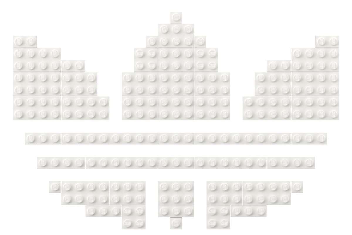 Lego adidas superstar 5