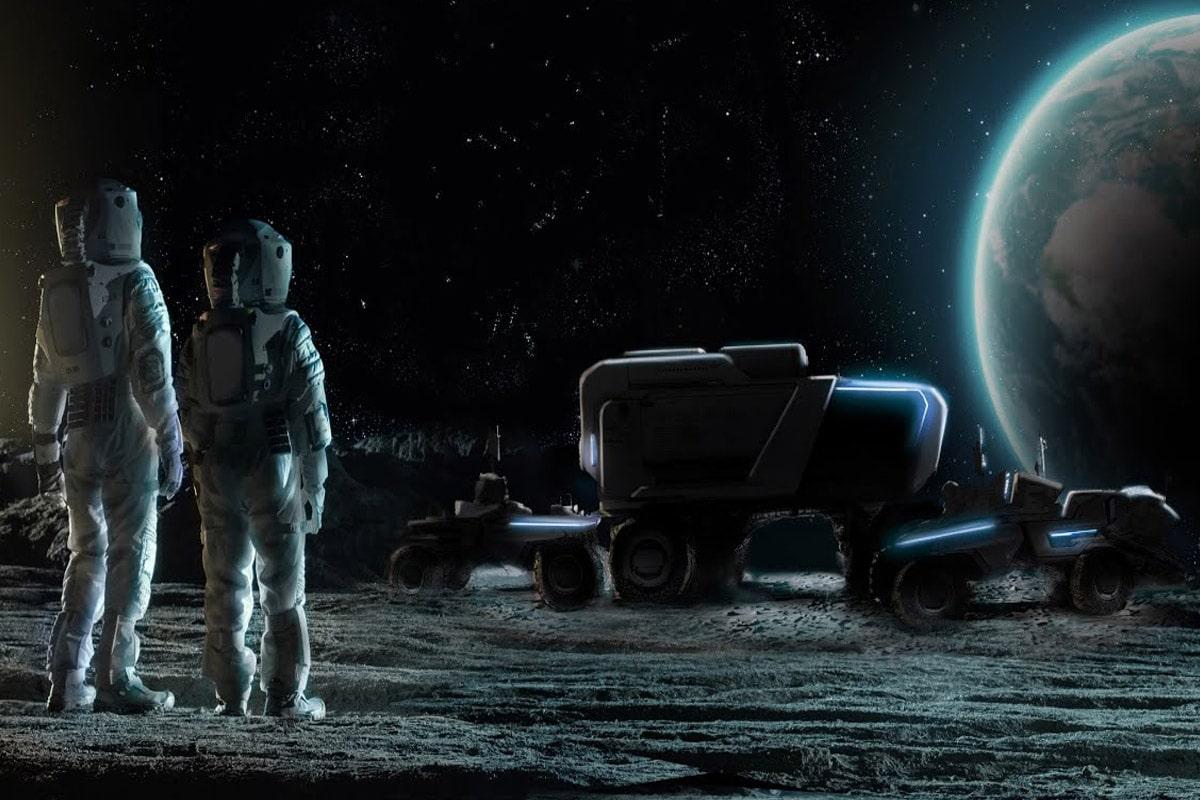Lockheed martin x gm lunar rover 1