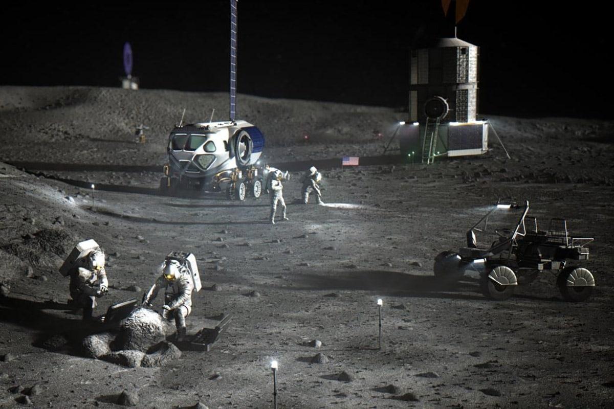 Lockheed martin x gm lunar rover