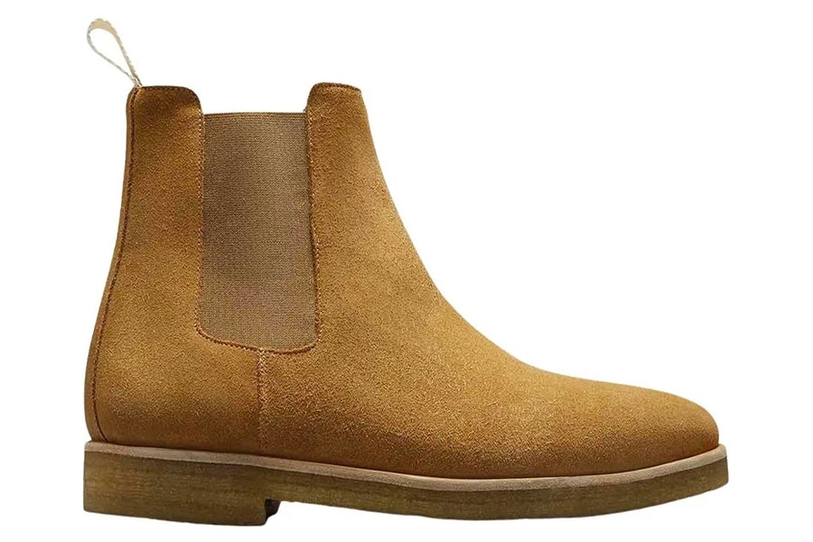 Man of many selects oliver cabell chelsea boot cappuccino