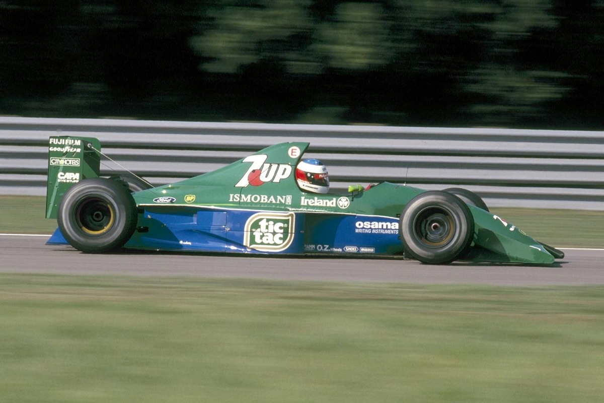 Michael schumachers first ever f1 car