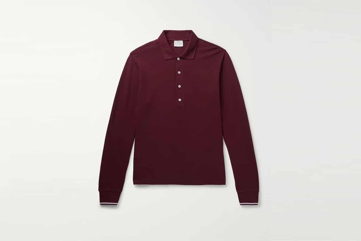 Mr porter finds kingsmancotton pique polo shirt