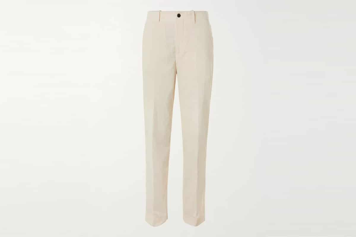 Mr porter finds mr p cotton and cashmere blend corduroy trousers