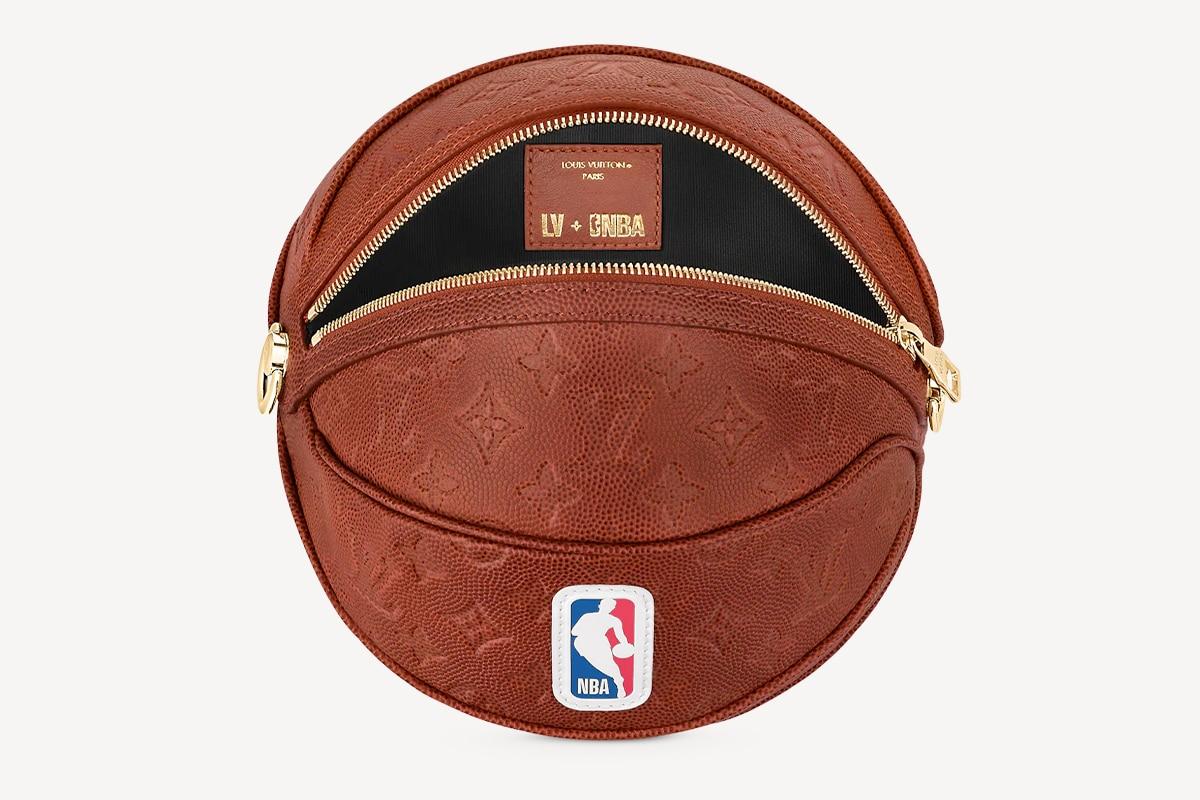 Nba louis vuitton basket in bag