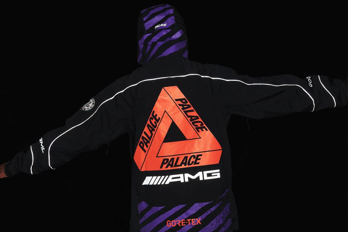 Palace x mercedes amg outfit 3