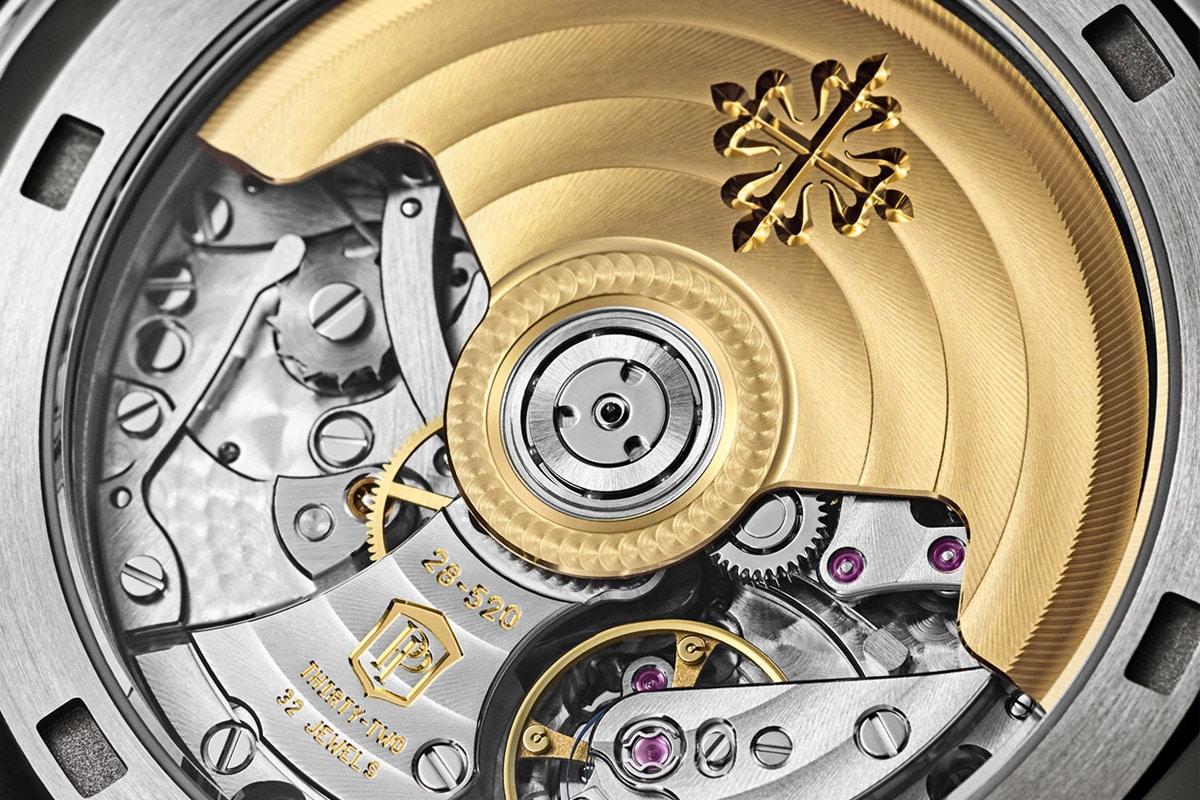 Patek philippe white gold aquanaut chronograph 2