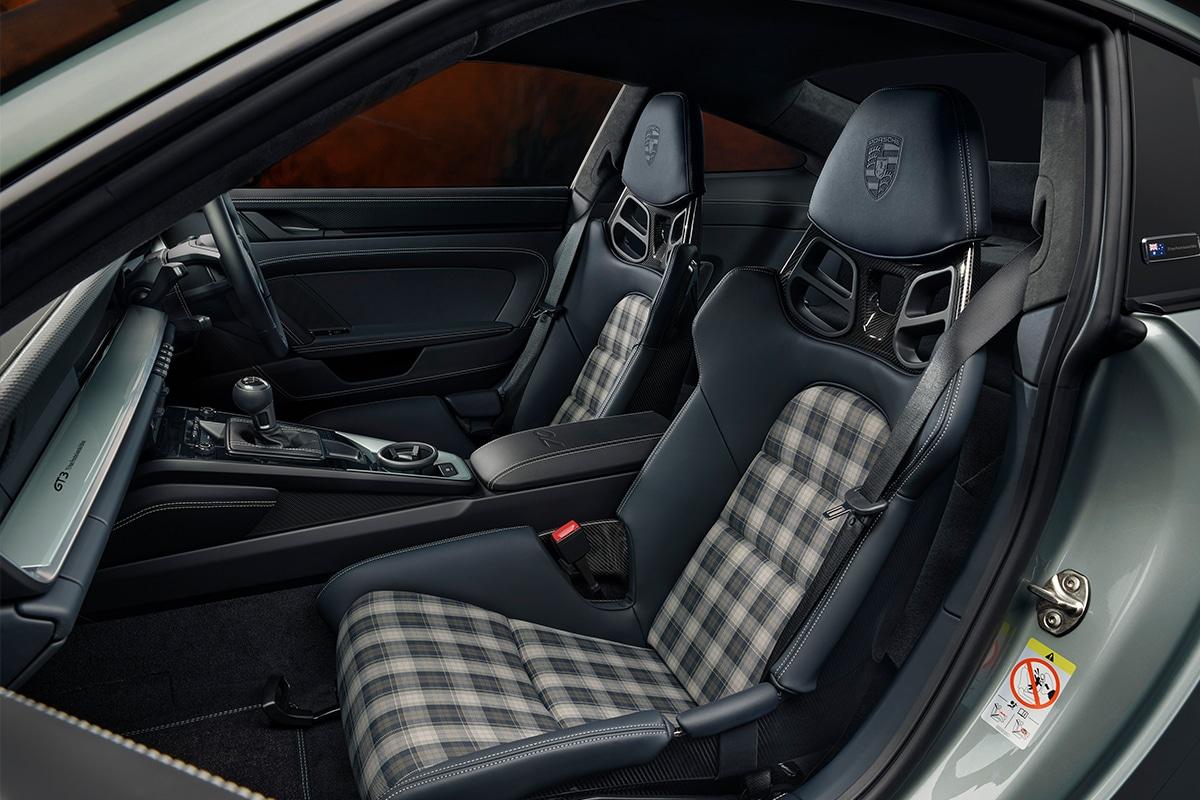 Porsche 911 gt3 70 years porsche australia edition interior 3