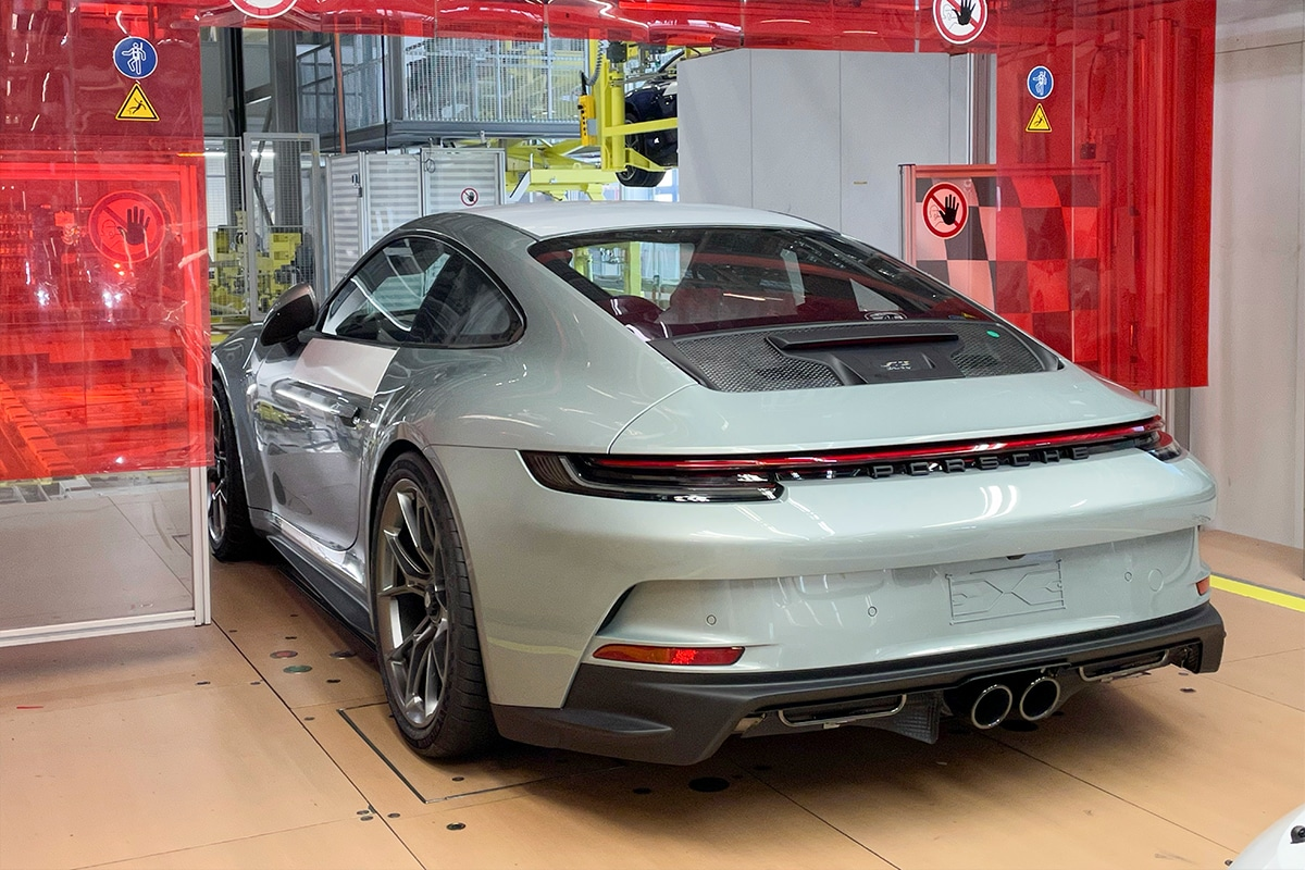 Porsche 911 gt3 70 years porsche australia edition on production line 7
