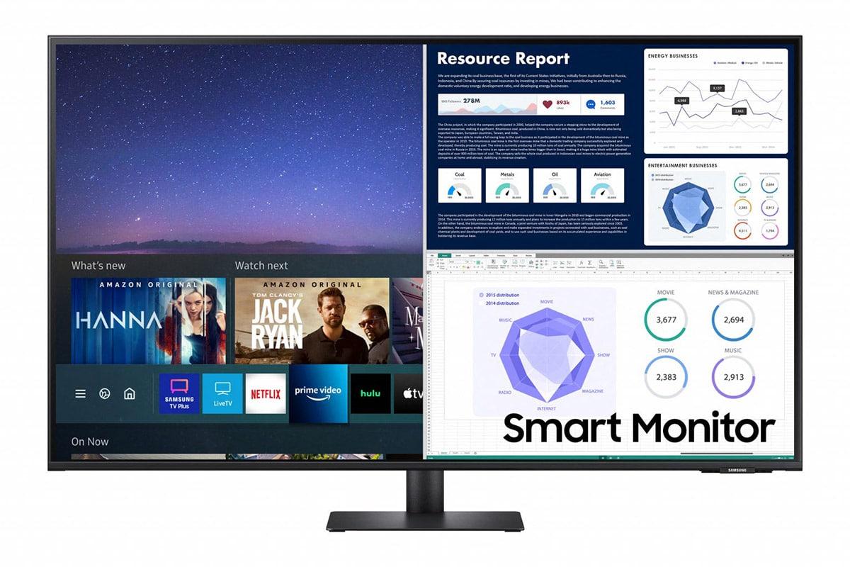 Samsung m7 monitor 4