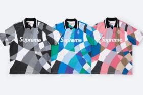 Supreme x emilio pucci polo shirt lineup