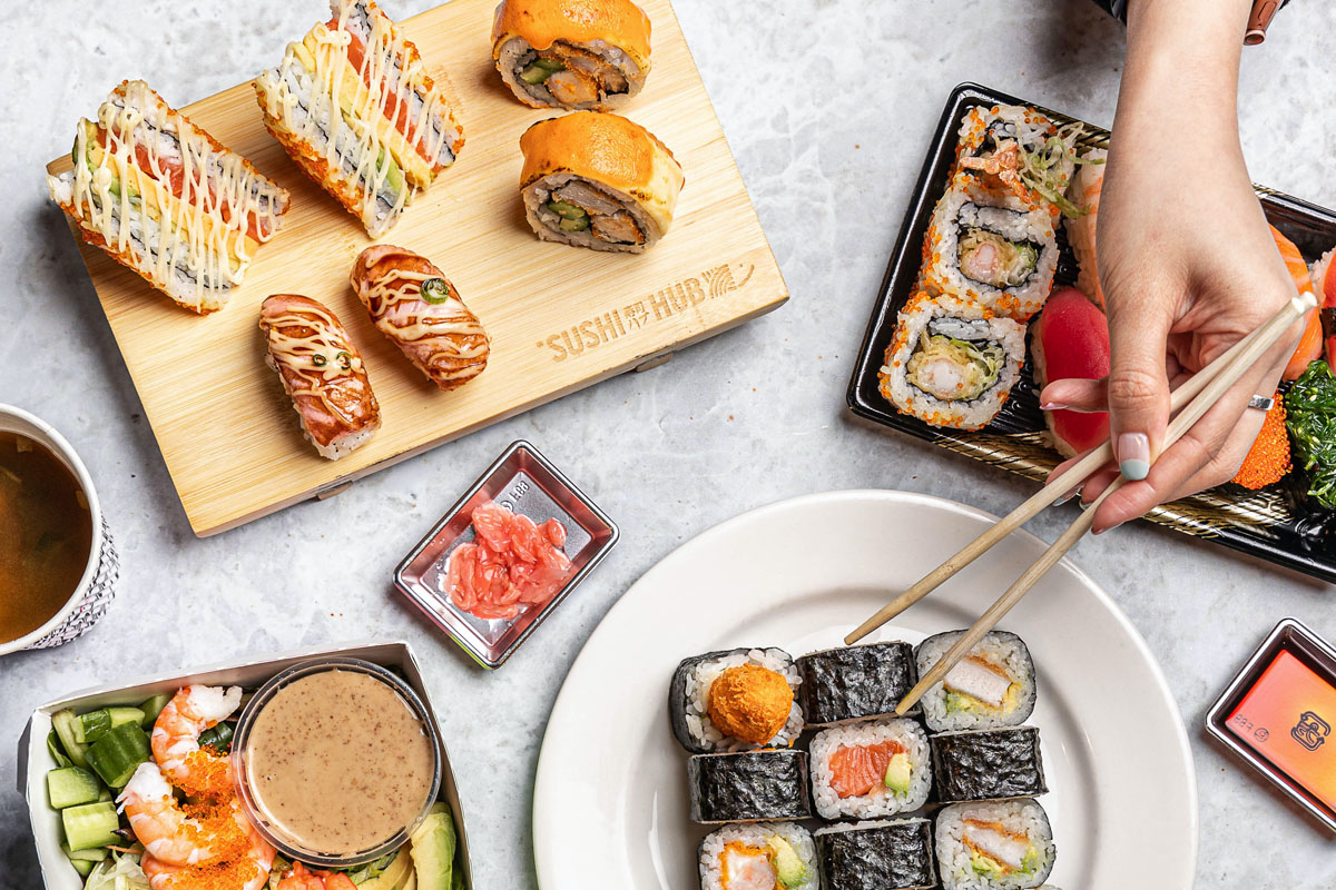 Sushi hub deliveroo