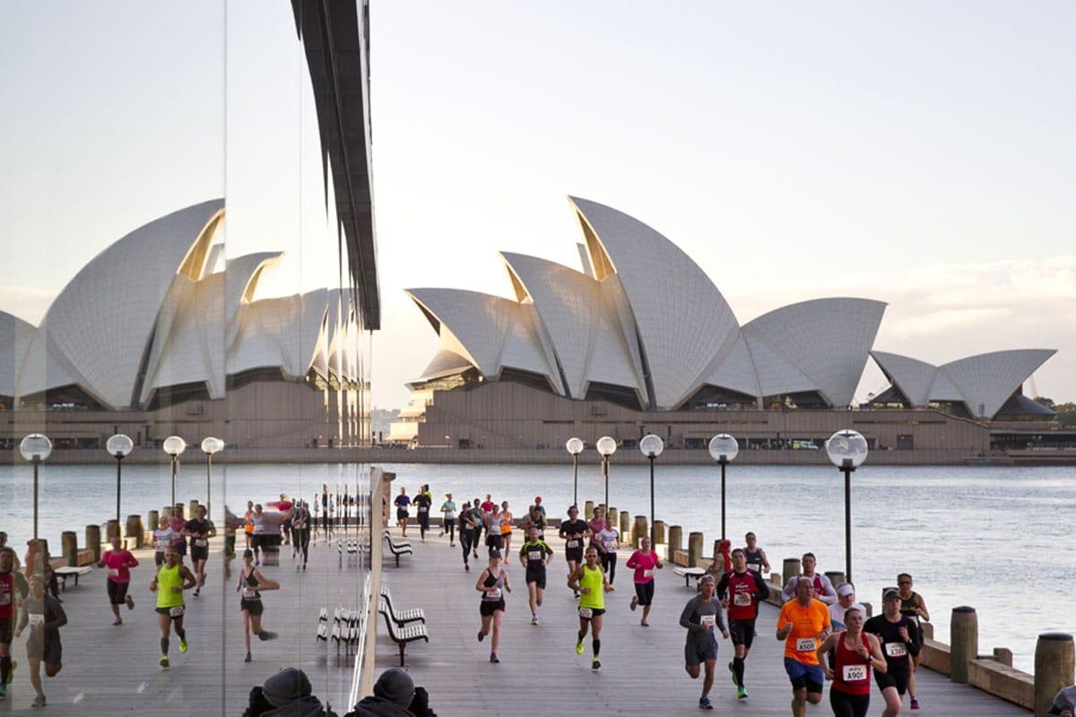 Sydney harbour 10k