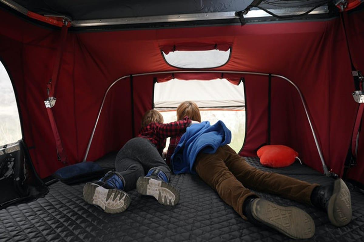 Tedpop pop up dual expandable rooftop tent 1