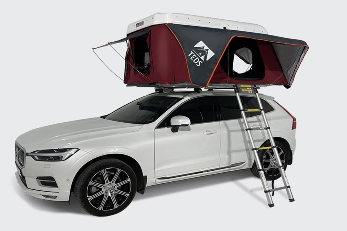 Tedpop pop up dual expandable rooftop tent 2