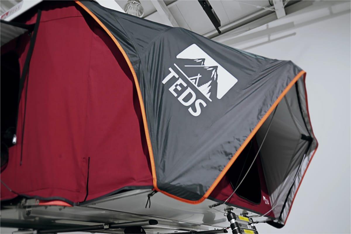 Tedpop pop up dual expandable rooftop tent