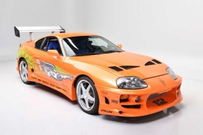 Paul Walker's 'Fast & Furious' Supra Sells for Record-Breaking $550,000