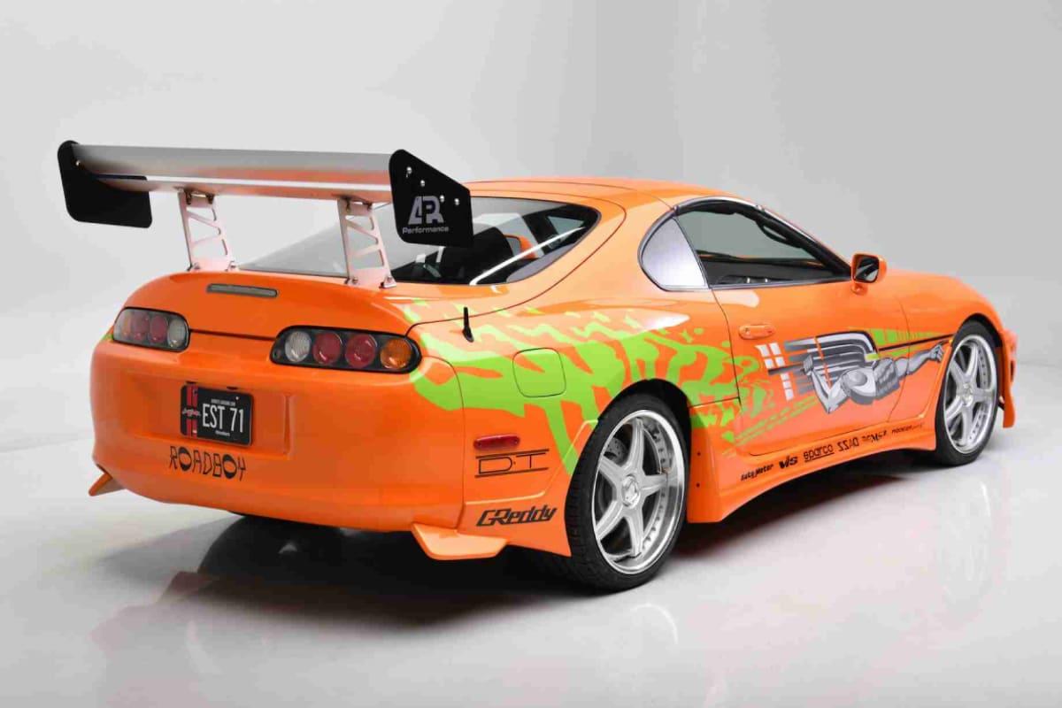 Paul Walker's 1994 Supra Fast and Furious