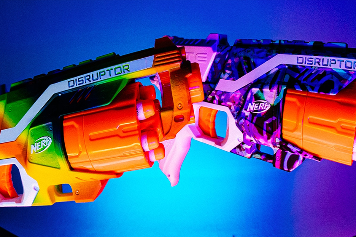 Ultra limited hype x nerf blasters 2