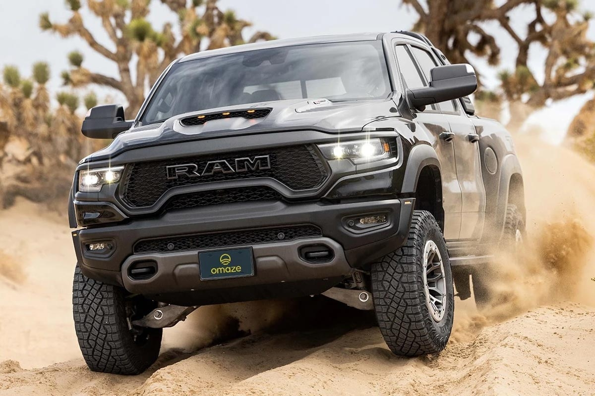 Win a ram 1500 trx and 20 000 1