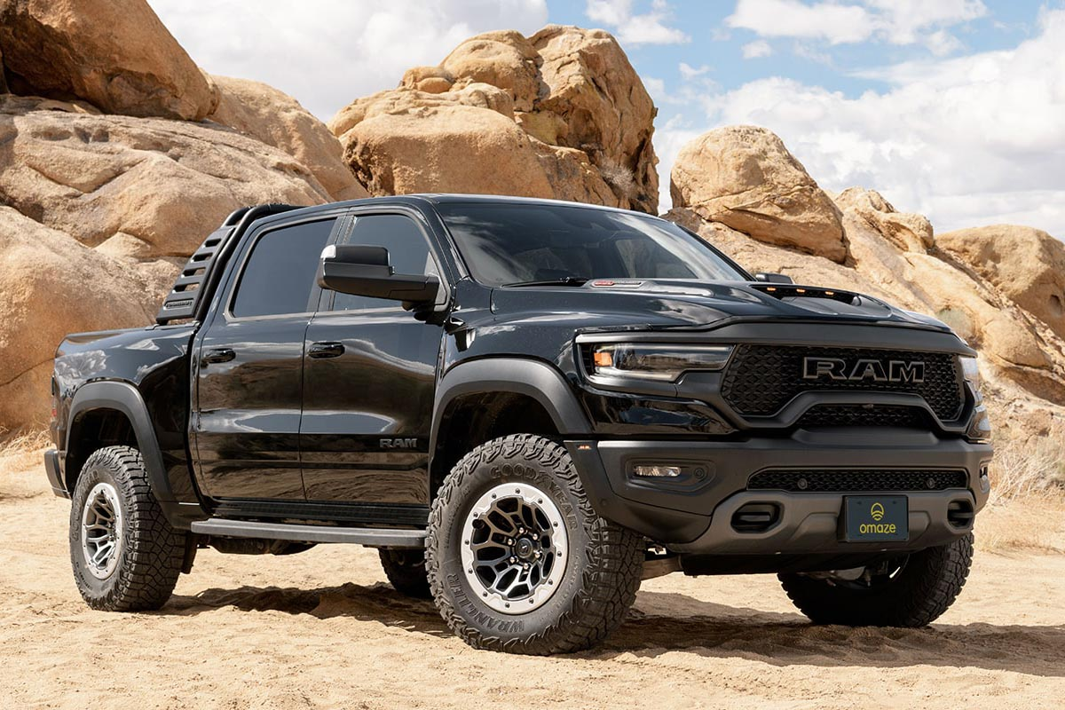 Win a ram 1500 trx and 20 000
