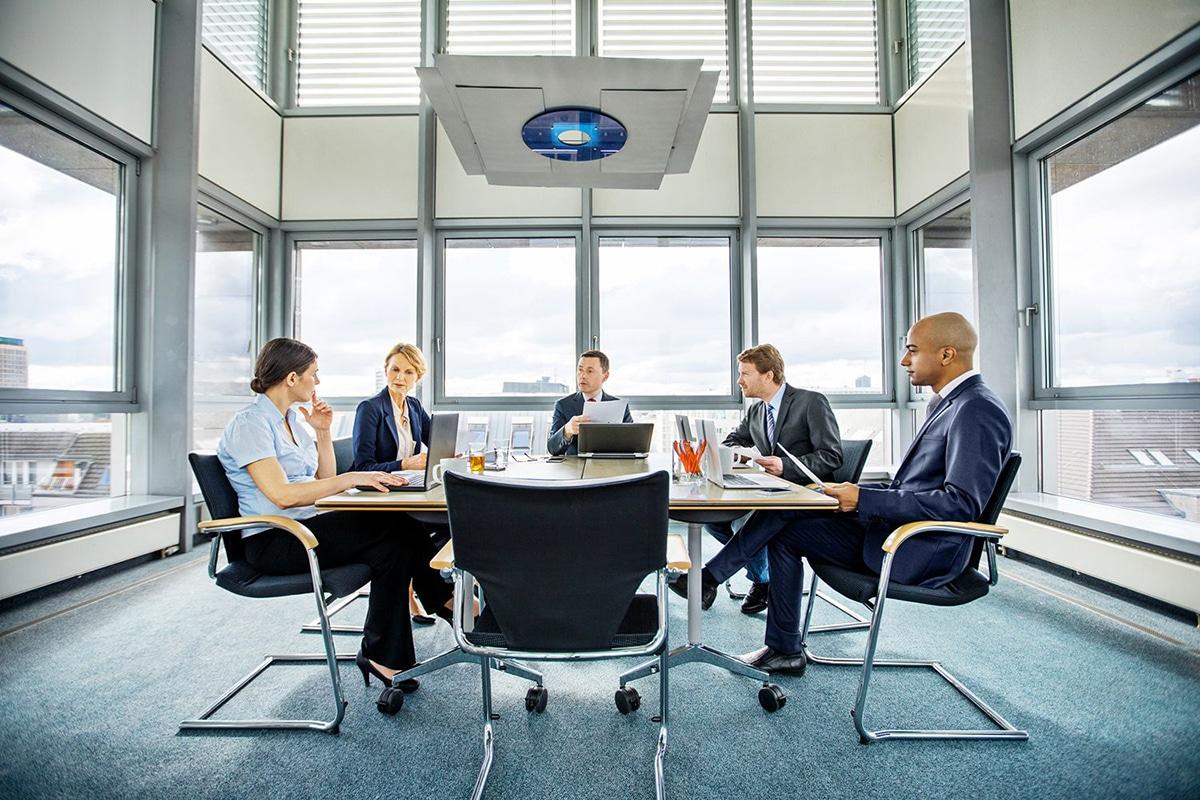 board of directors sitting in cabinet
