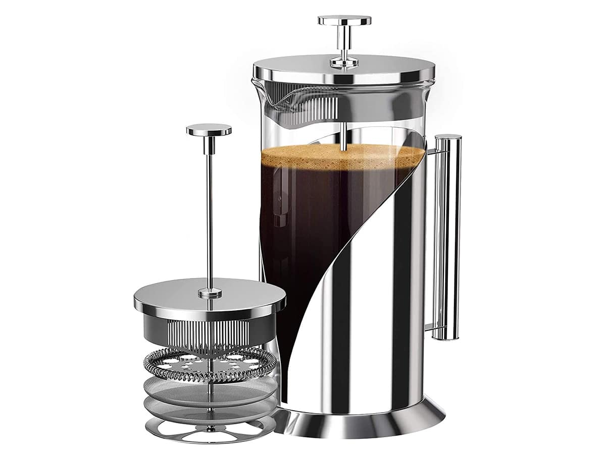french press coffee maker cafe du chateau