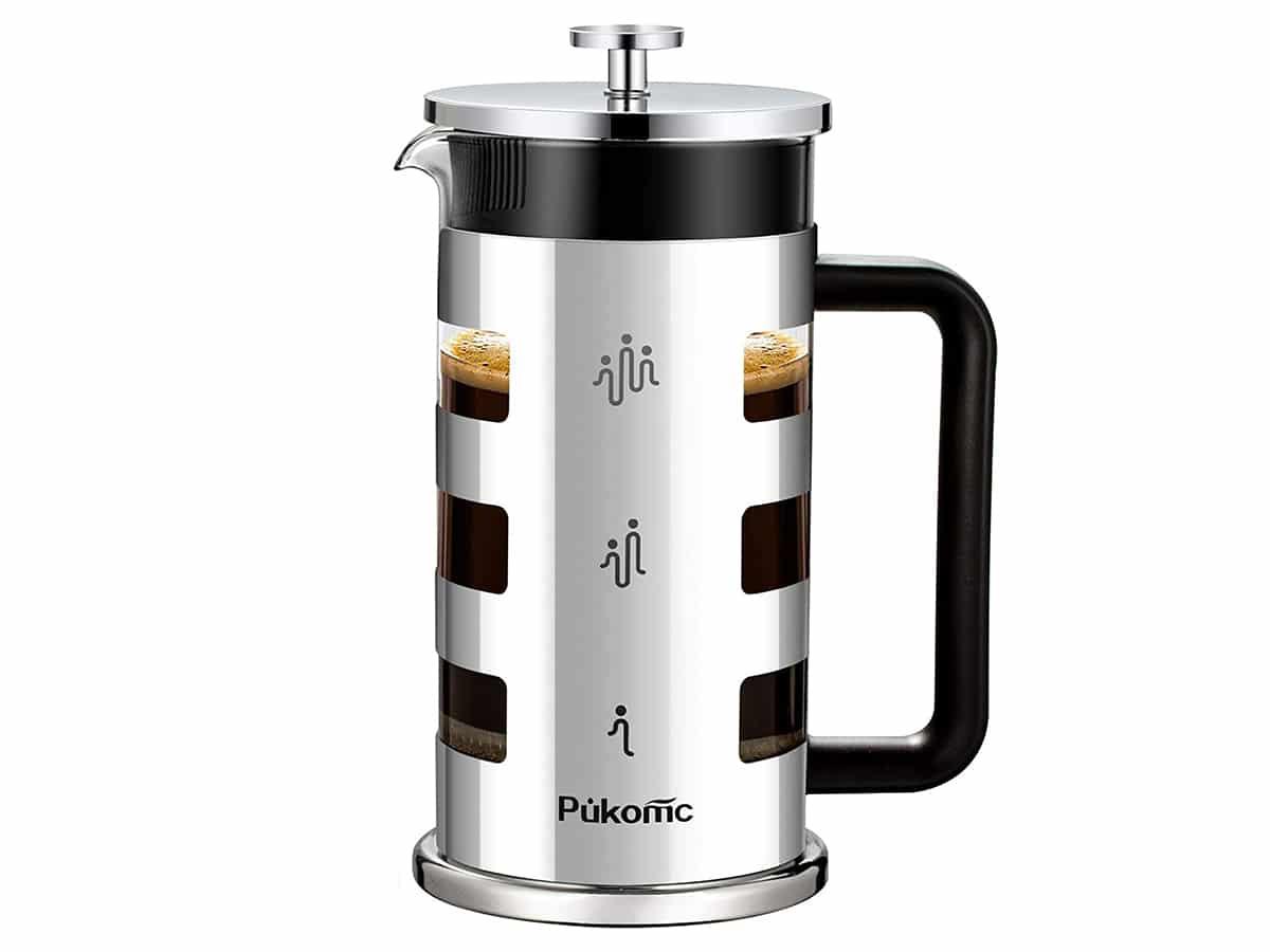 french press coffee maker pukomc french press