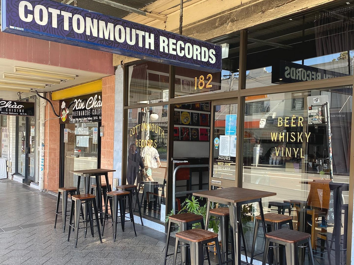 cottonmouth records street view